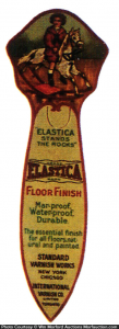 Elastica Finish Bookmark