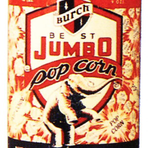 Jumbo Pop Corn Tin