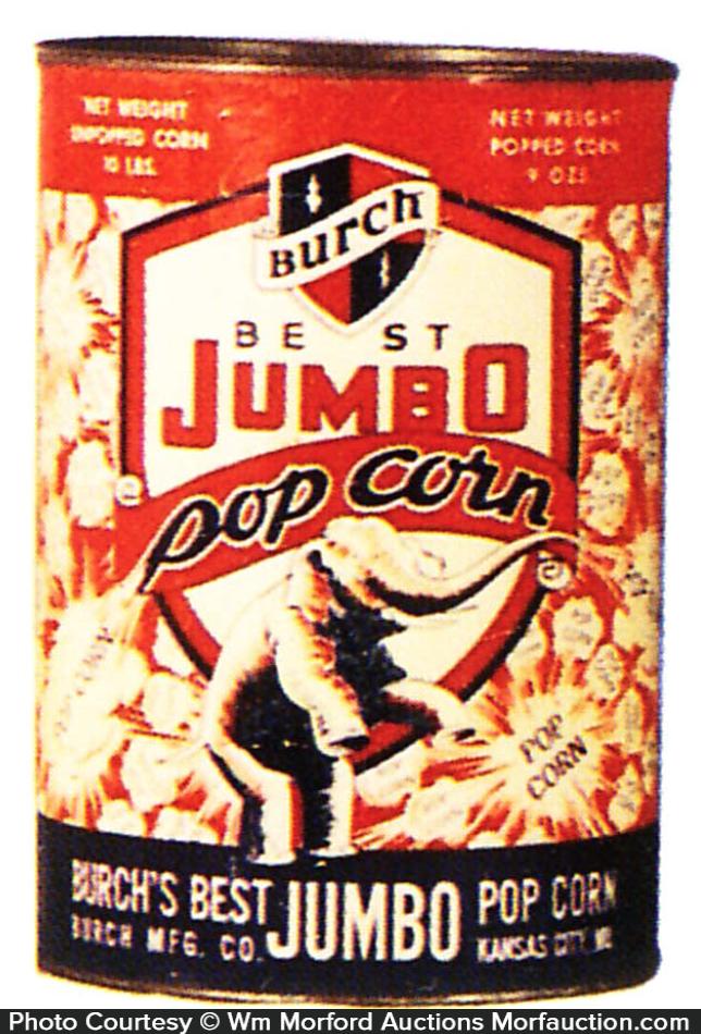 Jumbo Pop Corn Tin