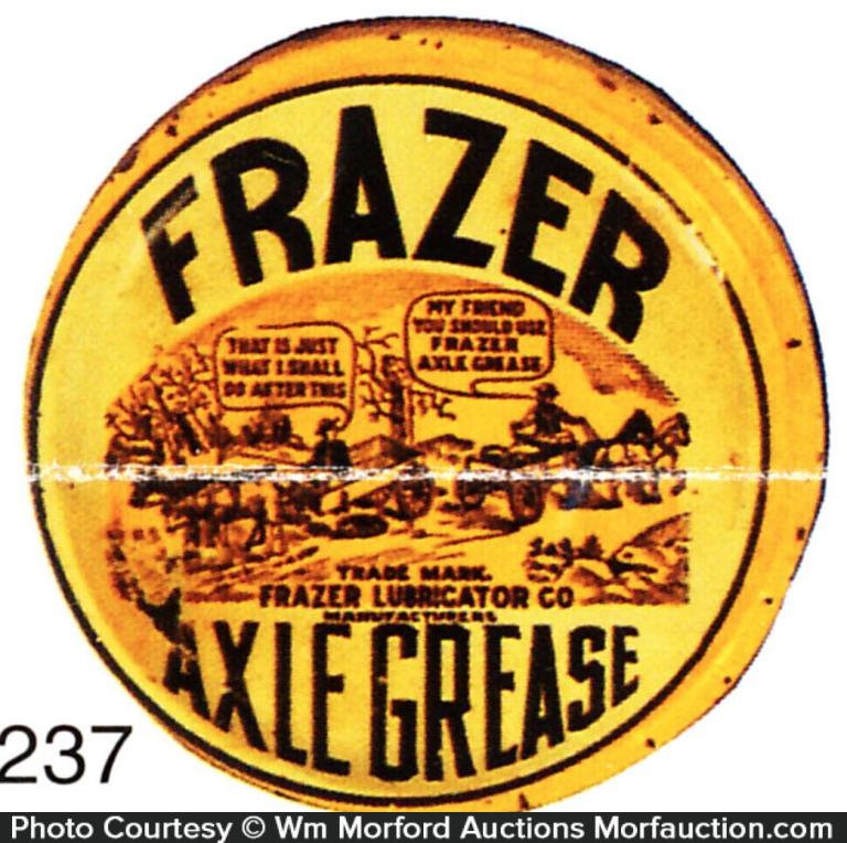 Frazer Axle Grease Tin