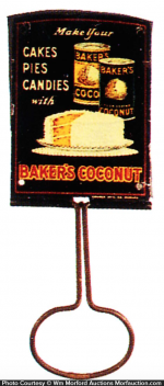 Baker's Coconut Broom Holder