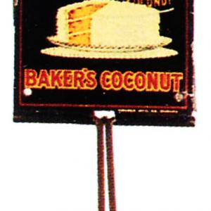 Baker's Coconut Broom Holder