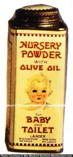 Lander Nursery Powder Tin