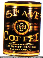 5Th Ave Coffee Can