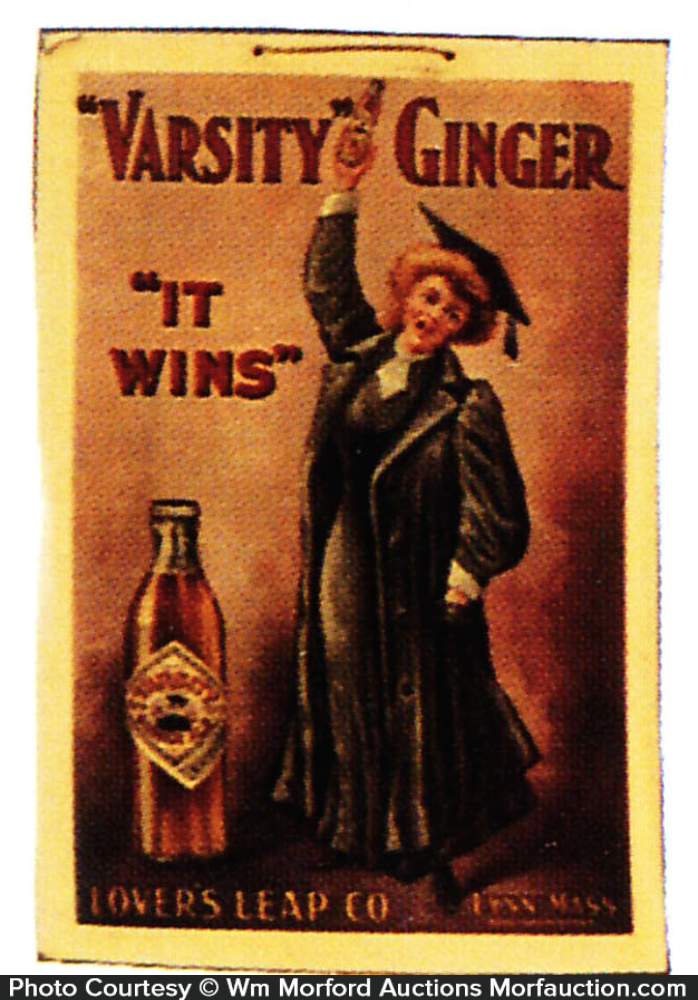 Varsity Ginger Ale Sign