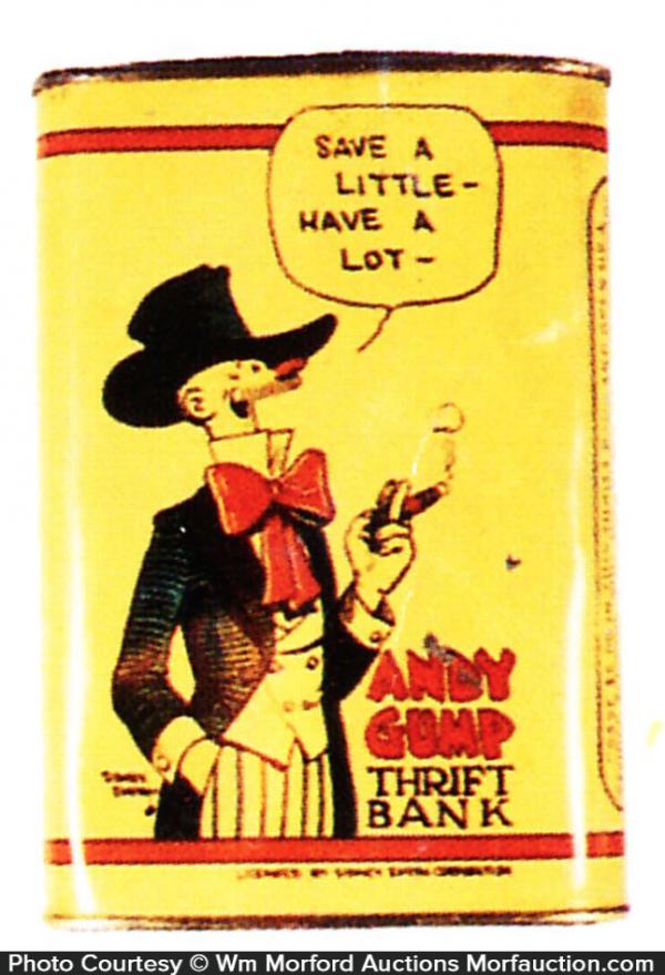 andy Gump Thrift Bank