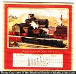 Pennsylvania Railroad Calendar