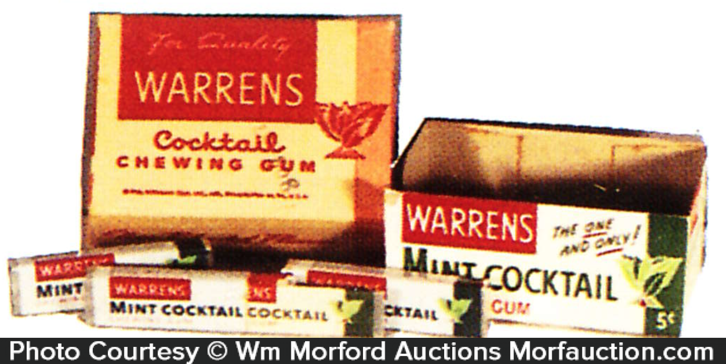 Vintage Warrens Gum Items