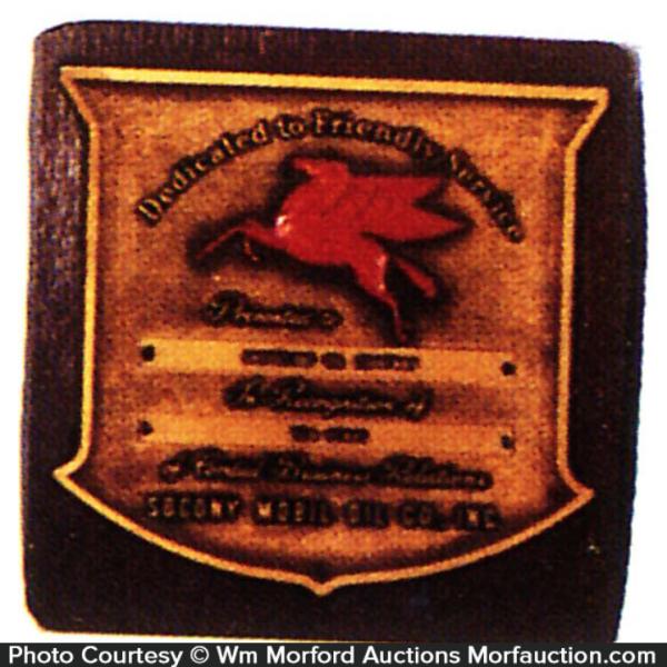 Socony Dealer Award