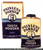 Parker Tooth Powder Tin