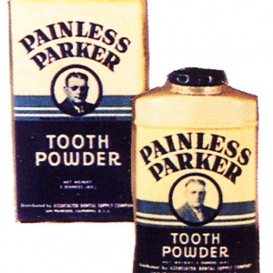 Parker Tooth Powder Tin