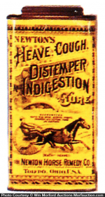 Newton's Distemper Indigestion Tin