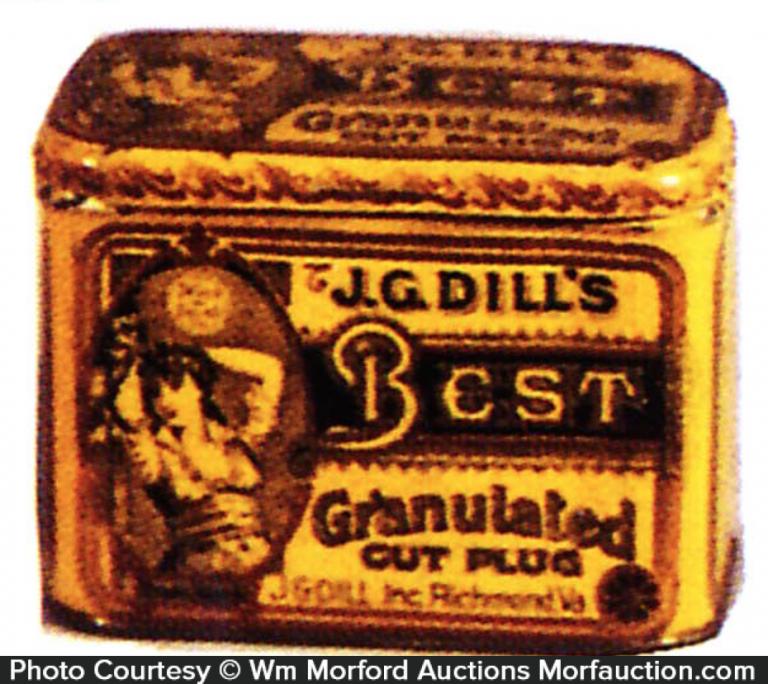Dill's Best Tobacco Tin