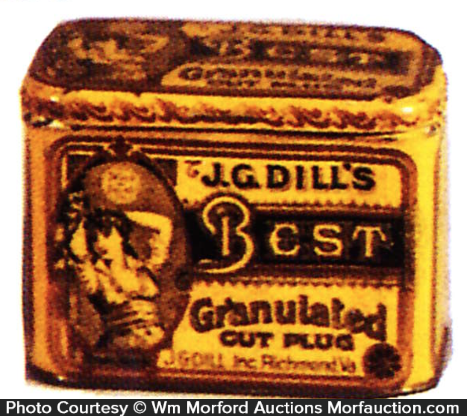 Dill's Best Tobacco Tin
