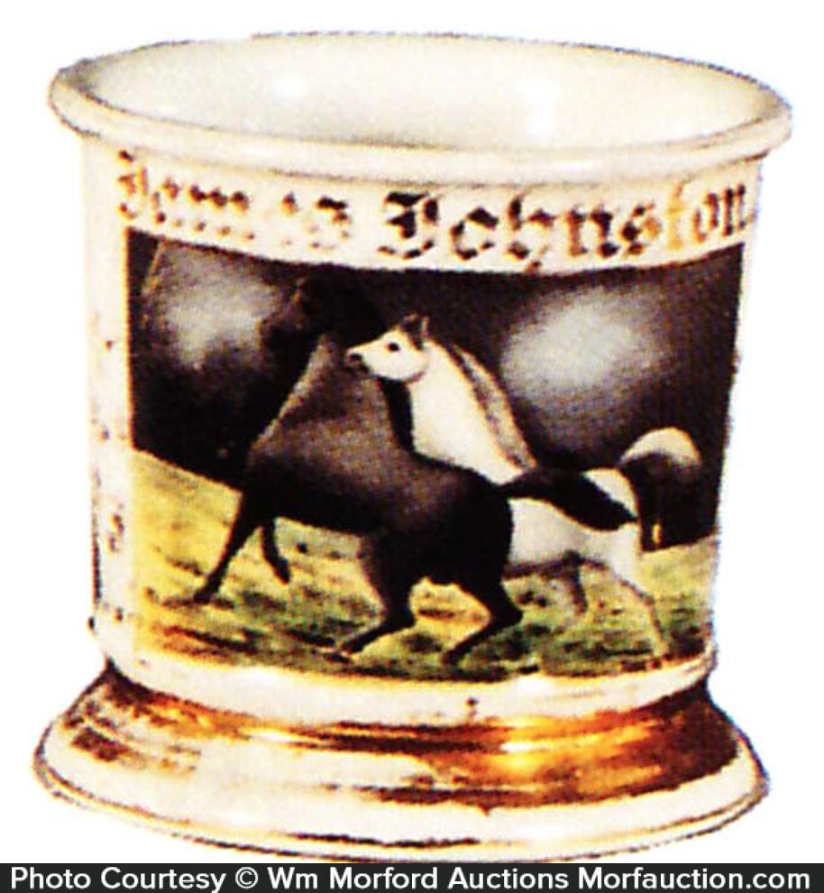 Horse Shaving Mug