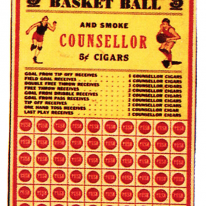 Counsellor Cigars Punchboard