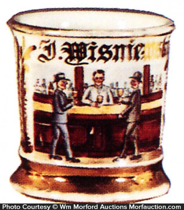 Bartender Shaving Mug