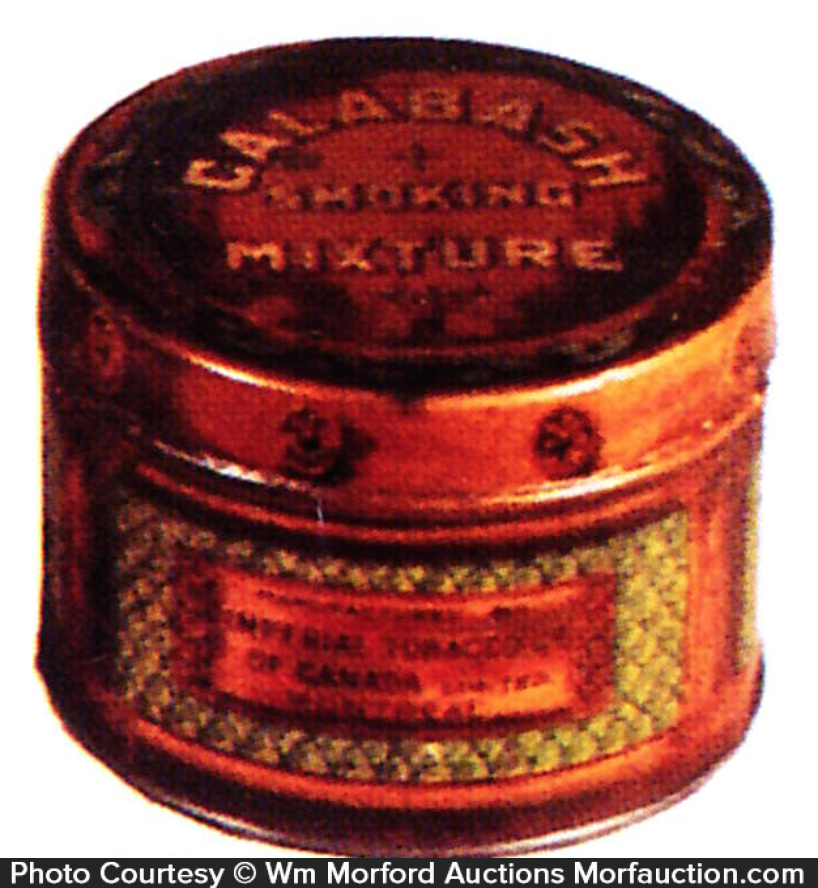 Calabash Mixture Tobacco Can