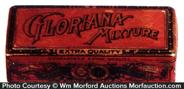 Gloriana Mixture Tobacco Tin