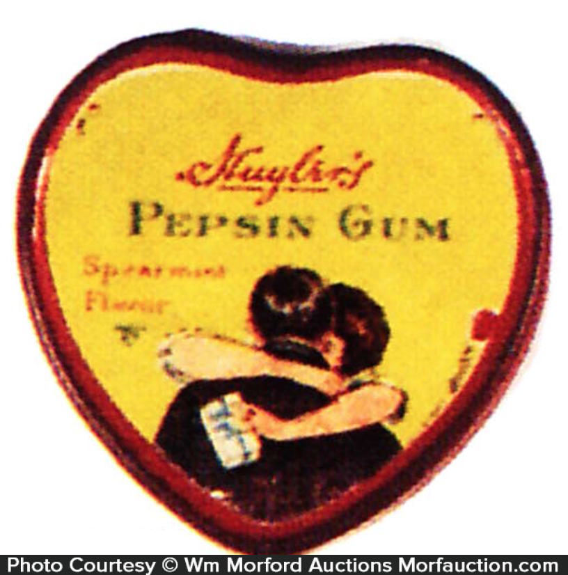 Huyler's Pepsin Gum Tin
