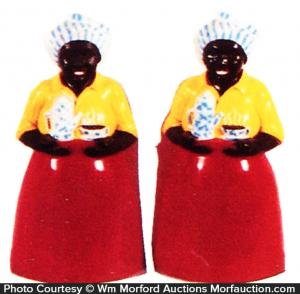 Luzianne Coffee Salt & Pepper Shakers