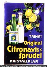 Citronavis Sprudel Sign
