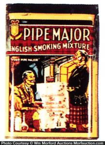 Pipe Major Tobacco Sample Tin