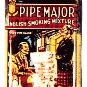 Pipe Major Tobacco Sample Tin
