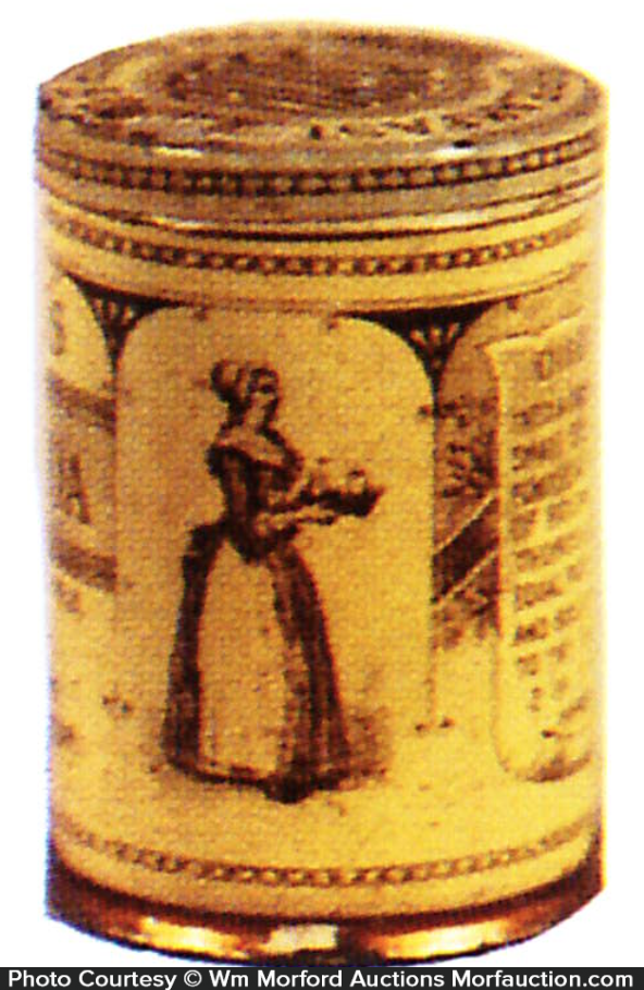 Baker's Cocoa Sample Tin