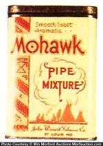 Mohawk Pipe Tobacco Tin