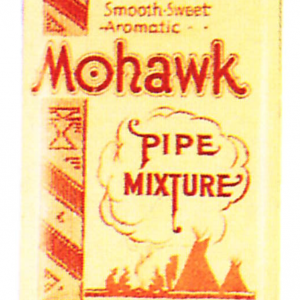 Mohawk Pipe Tobacco Tin