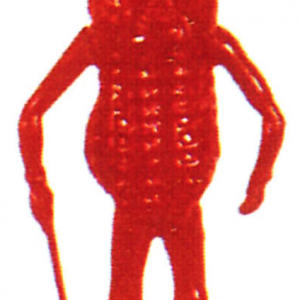 Red Mr. Peanut Toy