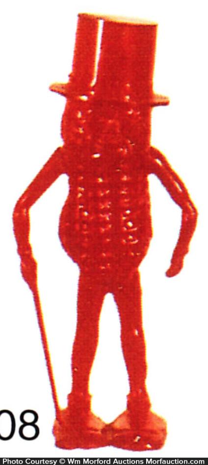 Red Mr. Peanut Toy