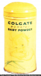 Colgate Baby Powder Tin