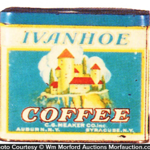 Ivanhoe Coffee Tin