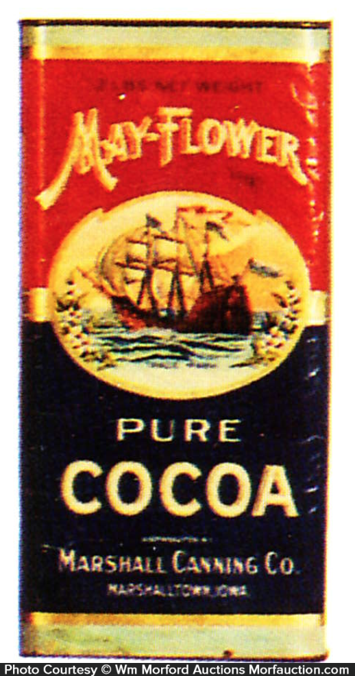 May-Flower Cocoa Tin