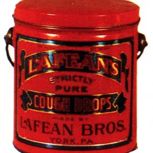 Lafean's Cough Drops Tin