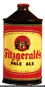 Fitzgerald's Pale Ale Beer Can