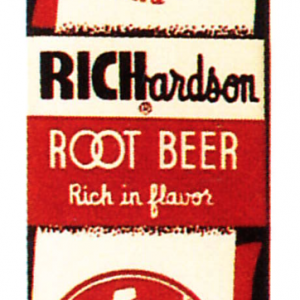 Richardson Root Beer Door Push