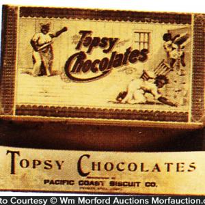 Topsy Chocolates Box