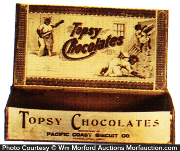 Topsy Chocolates Box