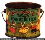 Bunny Peanut Butter Pail