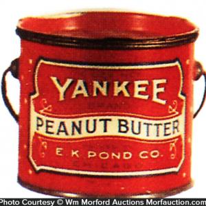 Yankee Peanut Butter Pail