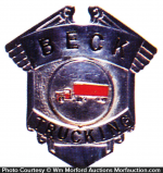 Beck Trucking Badge