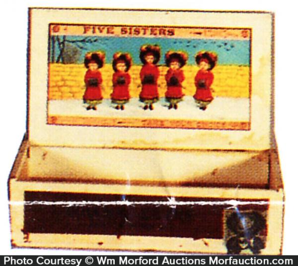 Five Sisters Cigar Box