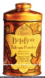 Bel Bon Talcum Powder Tin
