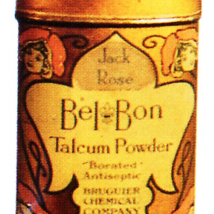 Bel Bon Talcum Powder Tin
