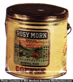 Rosy Morn Coffee Pail