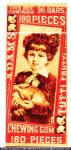 Adams Chewing Gum Box