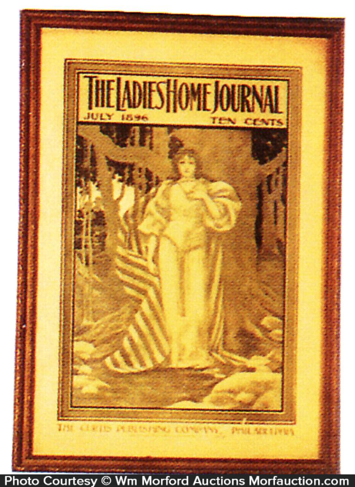 1896 Ladies Home Journal Cover